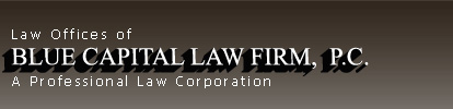 Blue Capital Law Firm - Disclaimers - federal tax advice Lawyer
